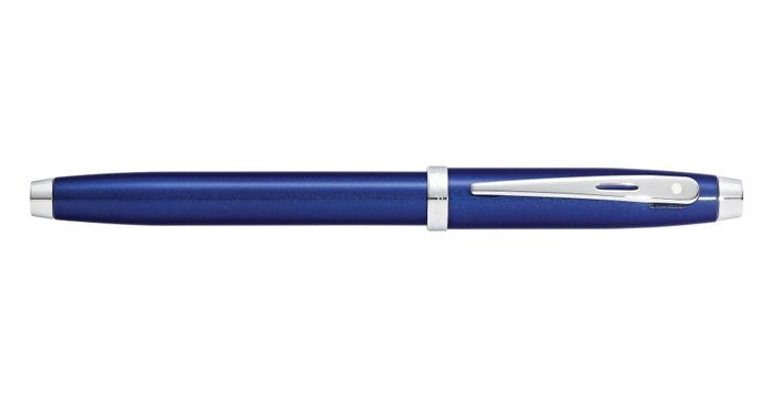 Sheaffer 100 Glossy Blue Lacquer