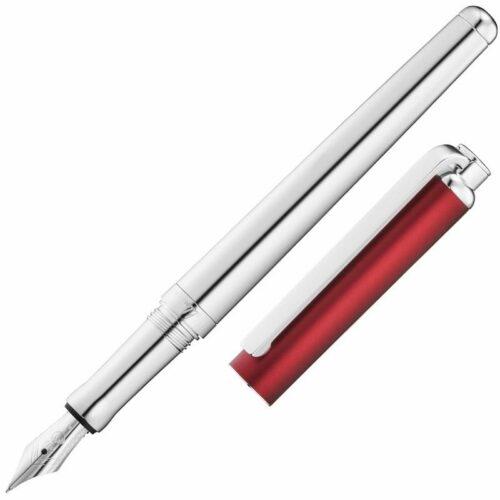 Waldmann Adámas Silver&Red vulpen